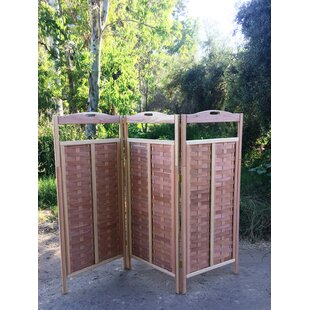 Bayou Breeze Torin 3 Panel Room Divider