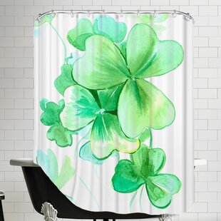 Shamrock Single Shower Curtain
