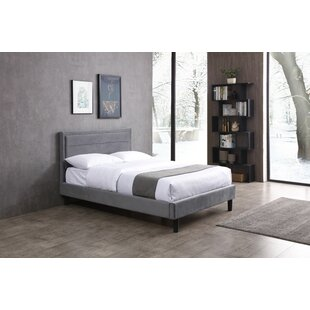 Review Abeyta Upholstered Bed Frame