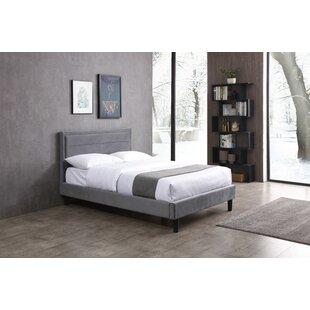 Deals Price Abeyta Upholstered Bed Frame