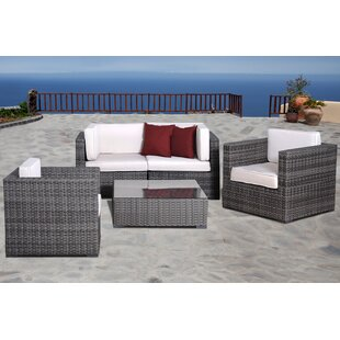 Neo 5 Piece Sofa Set with Cushions