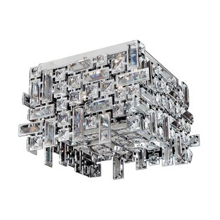 Allegri by Kalco Lighting Vermeer 4-Light Semi-Flush Mount