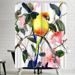 Suren Nersisyan Conure Single Shower Curtain