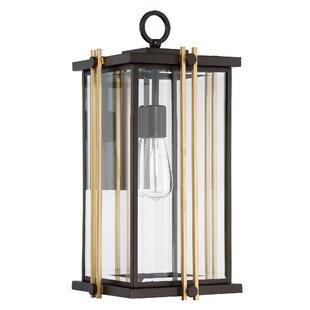Affordable Francois Contemporary 1-Light Outdoor Wall Lantern By Willa Arlo Interiors