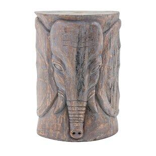 World Menagerie Cheetham Wooden Elephant ..