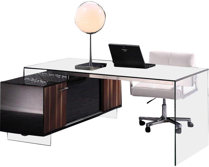 Orren Ellis  Blairwood L-Shape Writing Desk