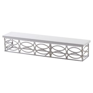 Contemporary Metal Wall Shelf