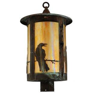 Fulton Crow 1-Light Lantern Head by Meyda Tiffany