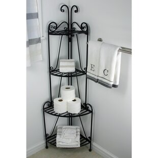 Folding Iron Baker's Rack by Pangaea Home and Garden