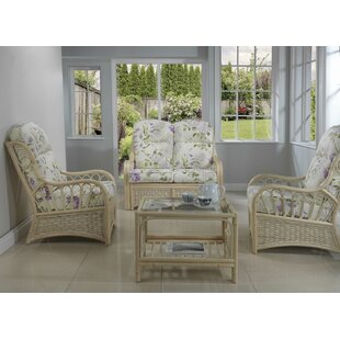 Ceja 4 Piece Conservatory Sofa Set By Bay Isle Home