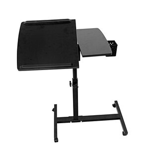Kenzo Two Tier Ergonomic Standing Desk by Symple Stuff Best #1