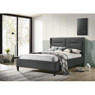 Hunsinger Double (4'6) Upholstered Bed Frame By Brayden Studio