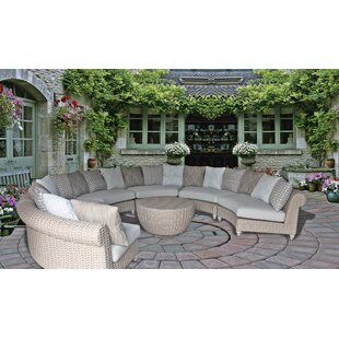 Wiggins Coastal 7 Piece Sectional Set with Cushions