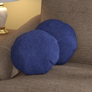 Gately Round Throw Pillow (Set of 2)