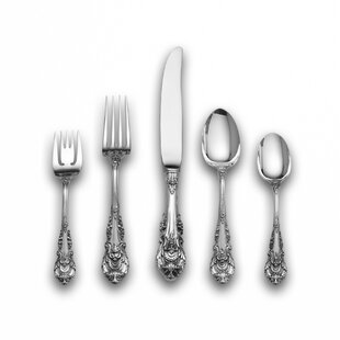 Sterling Silver Sir Christopher 46 Piece Flatware Set, Service for 8