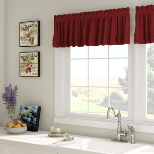 Gladys 58 Curtain Valance by August Grove