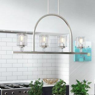 Friedman 4-Light Kitchen Island Pendant