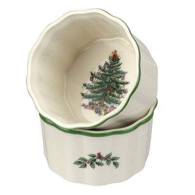 Fitz and Floyd Top Hat Frosty Collection Footed Bowl with Spreader White 49-506