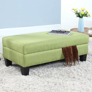 Charming Classic Linen Storage Bench