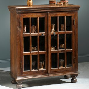 Cervantes Hutch 2 Door Accent Cabinet by Millwood Pines
