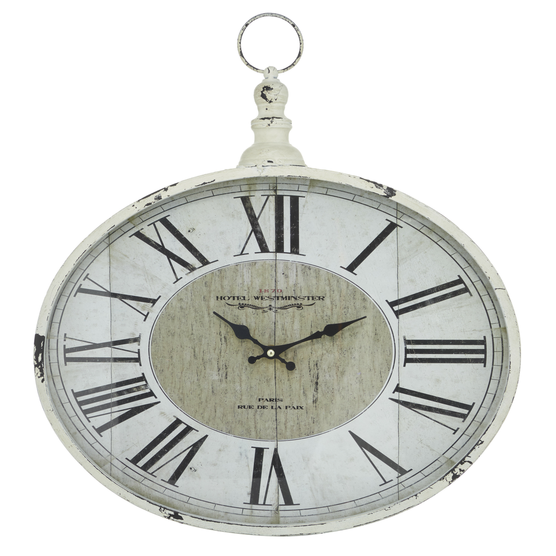 Ophelia Co Bainbridge Wall Clock Wayfair