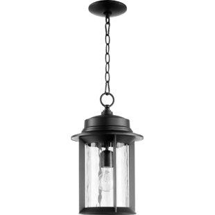 Three Posts Osmond 1-Light Outdoor Metal Hanging Lantern