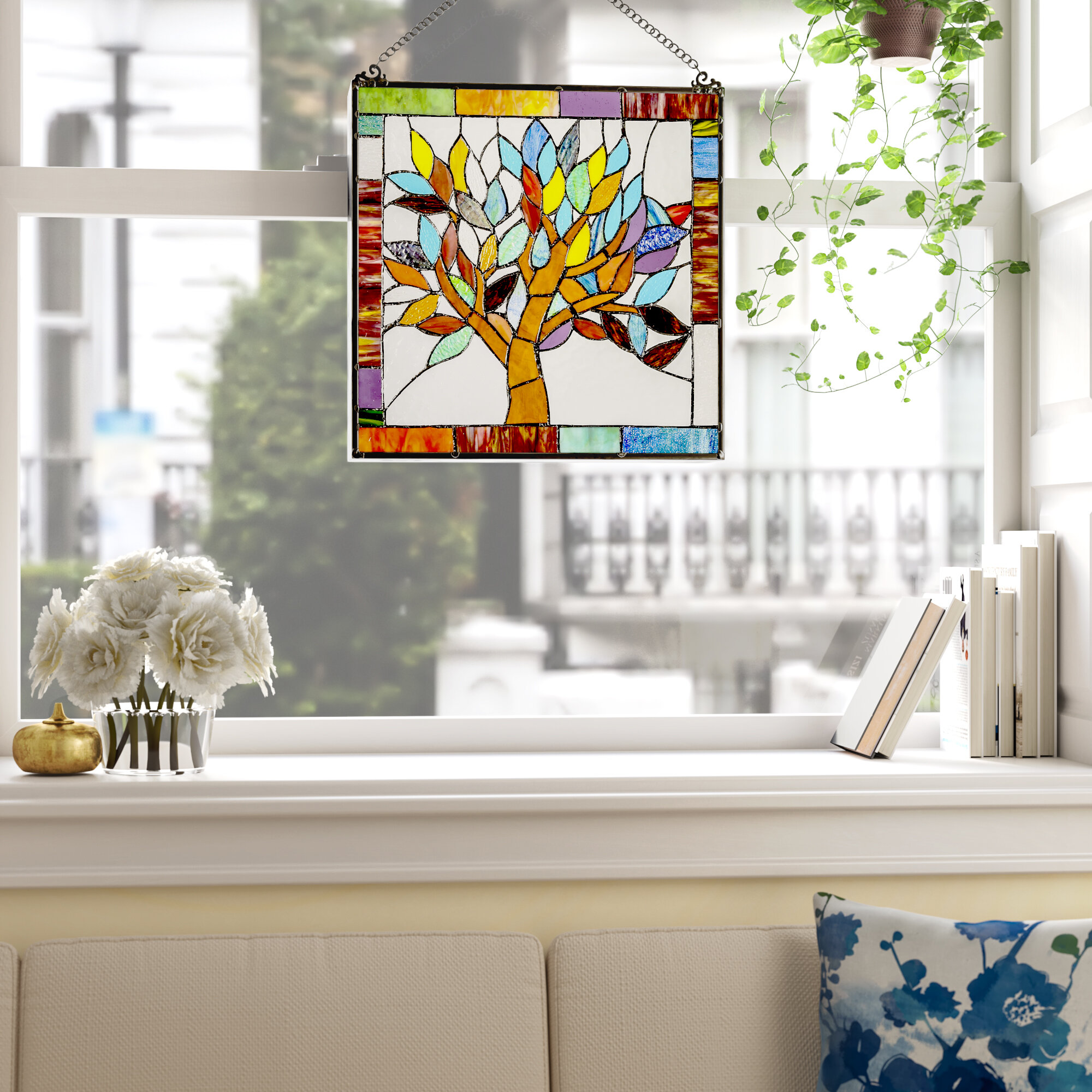 Horizontal Stained Glass Panels You Ll Love In 2021 Wayfair Ca