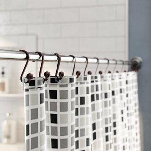 Eilerman Shower Curtain Hooks (Set of 12) By Rebrilliant