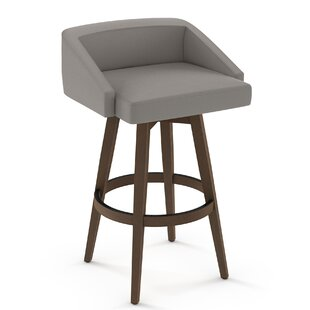 Leesa 26 Swivel Bar Stool Brayden Studio