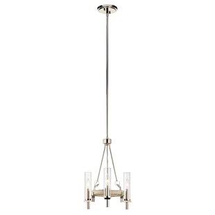 Elysant 3-Light Wagon Wheel Chandelier by Gracie Oaks