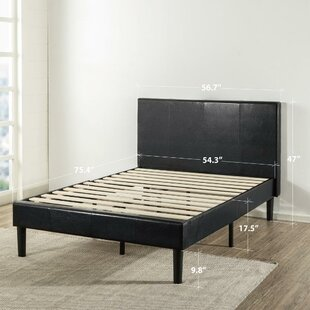 Natalia Upholstered Platform Bed by Wrought Studio