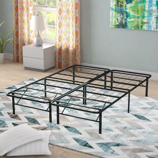 Alwyn Home Gabriele Platform Heavy Duty Metal Bed Frame