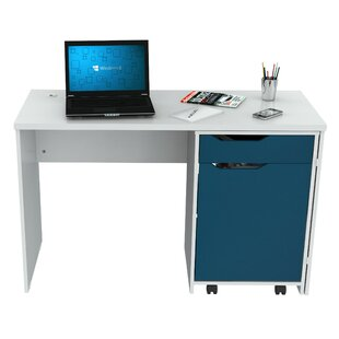 Amaliya Engineered Wood Executive Desk by Latitude Run New Design