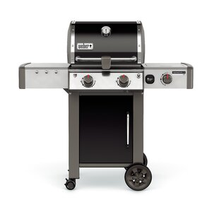 Genesis II E-240 1-Burner Natural Gas Grill with Side Burner