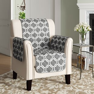 Printed Reversible T-Cushion Slipcover by Winston Porter