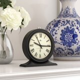 Tabletop Clock by Charlton Home®