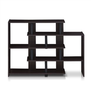 Colletti Geometric Bookcase by Wrought Studio