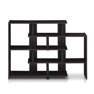Great Price Colletti Geometric Bookcase by Wrought Studio