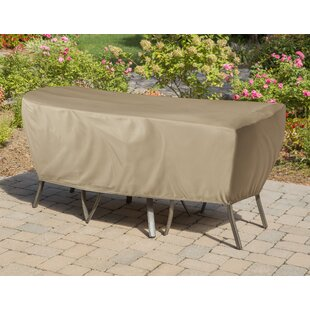Freeport Park Vinyl Patio Dining Set Covers