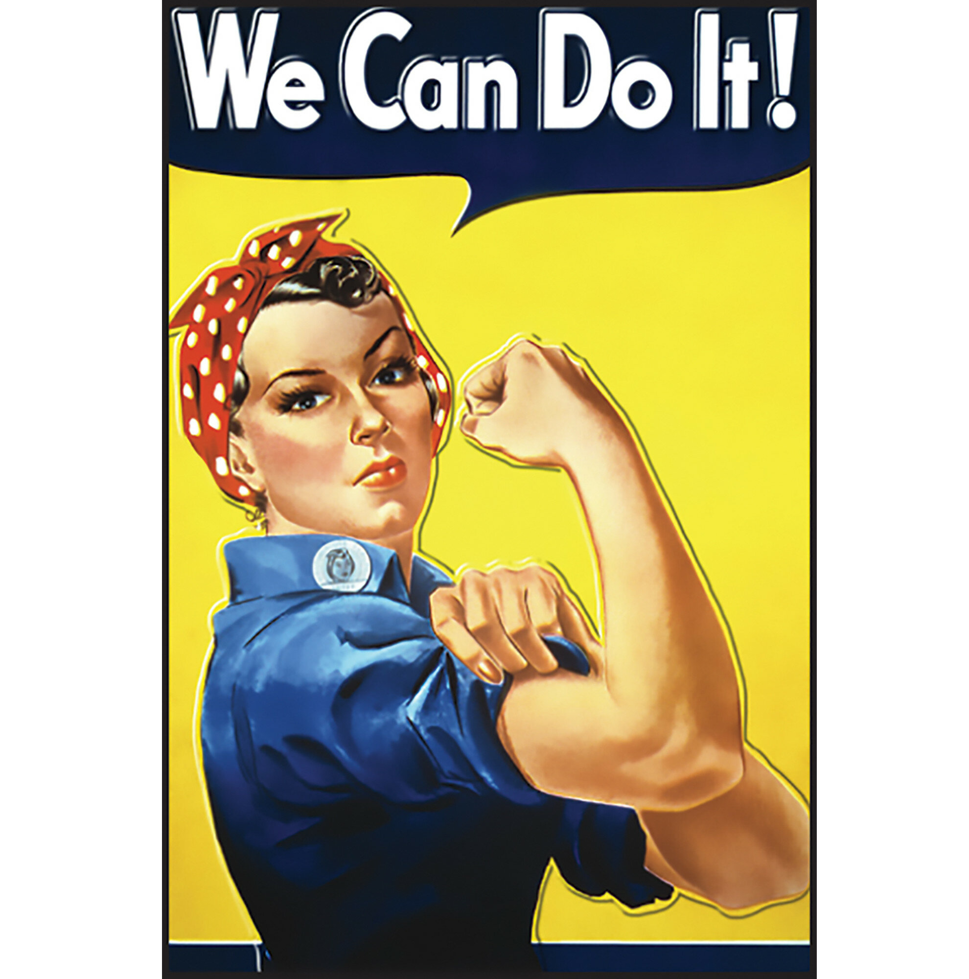 ROSIE THE RIVETER WE CAN DO IT Retro Tin Sign Garage Shop Home Wall Decor S-796