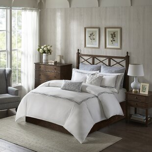 Harbor House Burke 100% Cotton 5 Piece Duvet Set