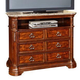 Wildon Home � Royal Palace 6 Drawer Media Chest