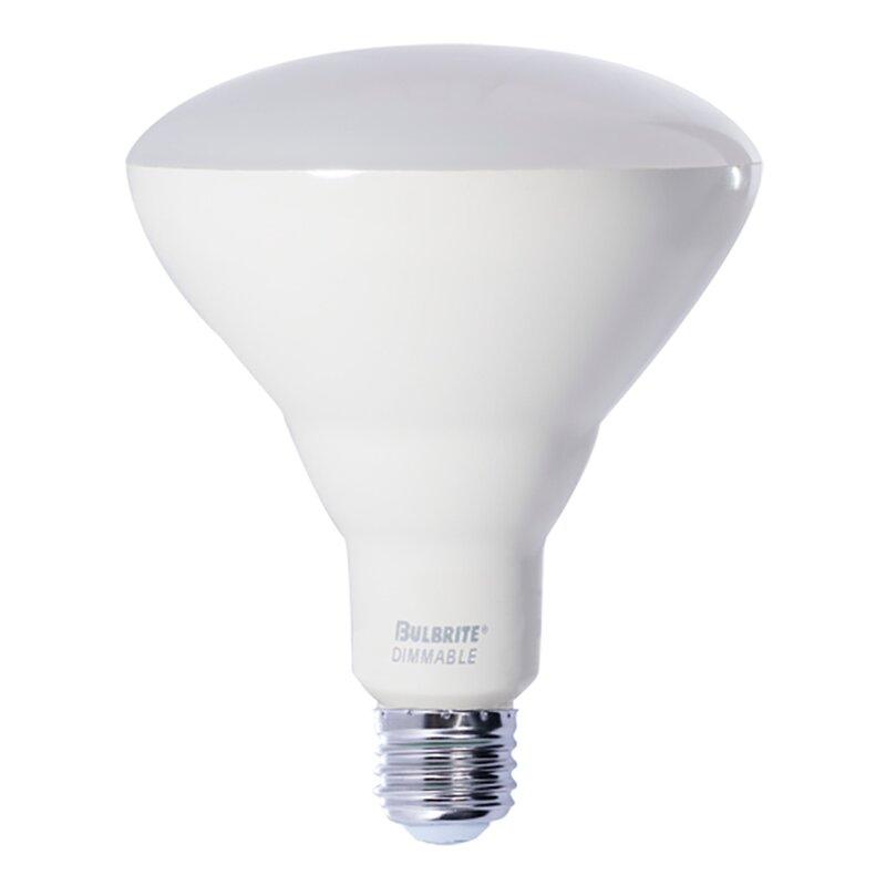 Bulbrite Industries 9 Watt 65 Watt Equivalent Br30 Led Dimmable Light Bulb Cool White 4000k E26 Medium Standard Base Wayfair