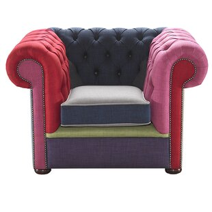 Droitwich Patchwork Club Chair By Ebern Designs