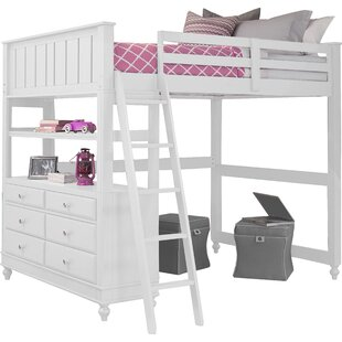 Full Holly Loft Bed by Viv + Rae