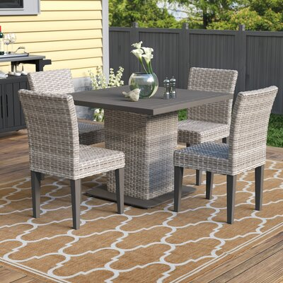 Sol 72 Outdoor Brennon 5 Piece Dining Set Sol 72 Outdoor Dailymail