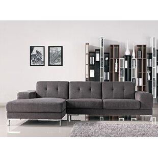 Brayden Studio Taul Fabric Sectional