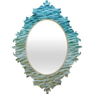Deny Designs Shannon Clark Ombre Sea Baroque Wall Mirror