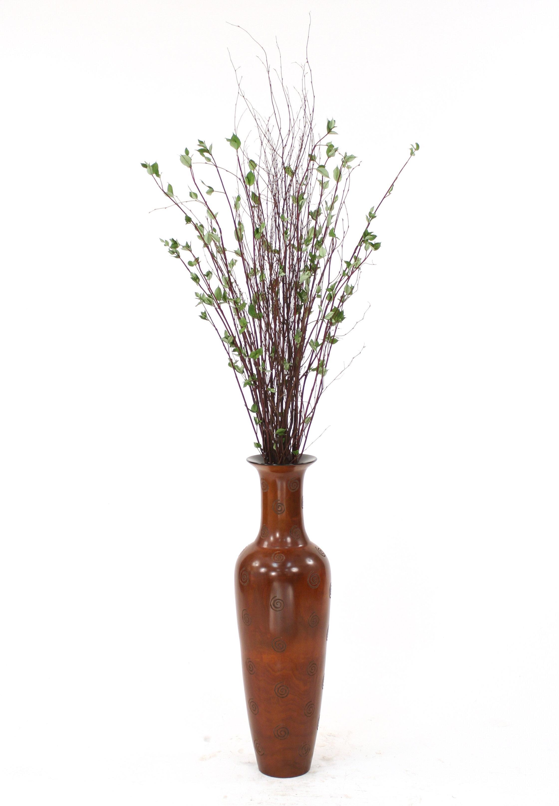 Distinctive designs birch branches drop in floor plant in distinctive designs birch branches drop in floor plant in decorative vase reviews wayfair reviewsmspy