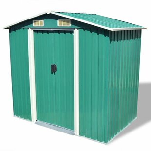 Mclellan 7 Ft. W X 4 Ft. D Metal Garden Shed By Sol 72 Outdoor